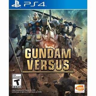 Gundam versus 行貨中文(code 已用), 連全新初回水樽