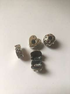 Preloved Pandora Charms Clips Murano Pendant