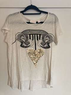 Sass and bide tshirt size XS
