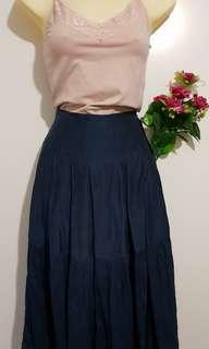 Gorman silk skirt size 8