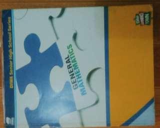 Pre-Calculus and Gen. Math Textbook (STEM)