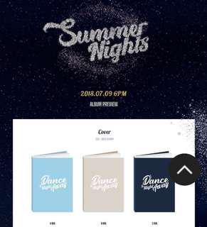 [EMS PO] Twice - Summer Nights Sealed Album