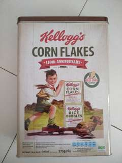 Kellogg's 110th Anniversary tin can collectible