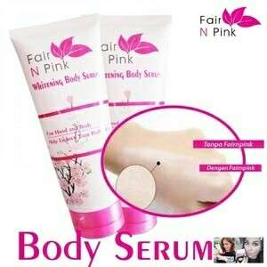 Fair n pink whitening body serum 160 ml BPOM