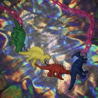 🚚 恐龍項鍊