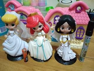 Disney Princess Wedding/Bridal Qposket K.O.
