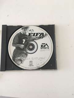 FIFA Sport 97 Segaran Saturn Game