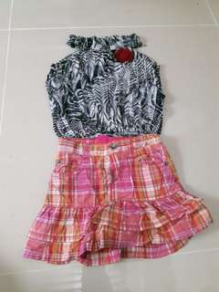Partner skirt & tops