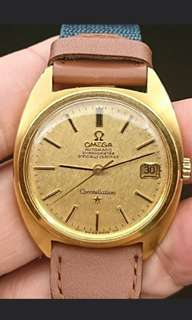 Omega Constellation 18K金飽魚星座