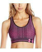 Under Armour Women's Armour® Mid Printed Sports Bra
