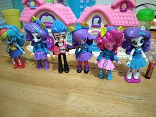 My Little Pony Equestria Girls set of 6