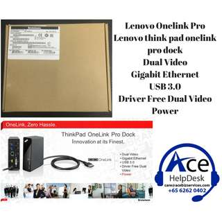 Lenovo Thinkpad Onelink Pro