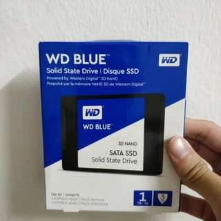 🚚 1TB SSD WD Blue 3D NAND
