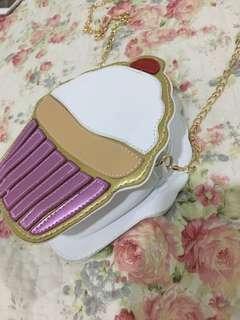 Preloved Cupcake Sling Bag