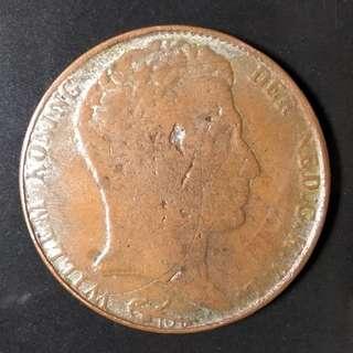 Koin 3 Gulden Willem Koning 1820