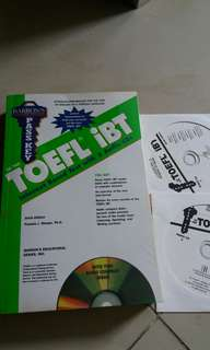 Toefl ibt with cd