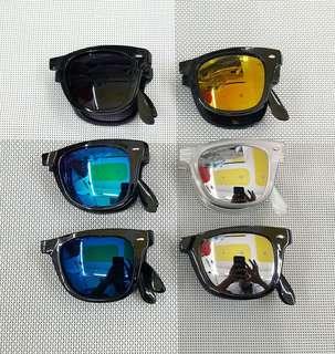 Rayban folded sunglasses