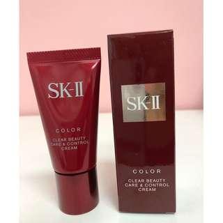 SK-II Color Clear Beauty Care & Control Cream SPF25 PA+++, 25g