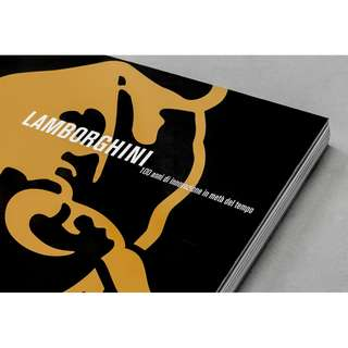 Automobili Lamborghini 100 Years of Innovaion in Half the Time Book
