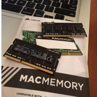 Ram Macbook Pro 8gb