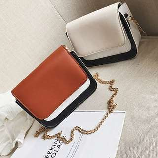 TRI COLOUR SLING BAG