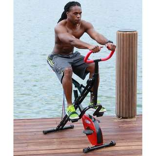 Sepeda Fitness Olahraga Statis Excider Bike Magic Body Crunch 2 in 1