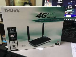 Router LTE sim card