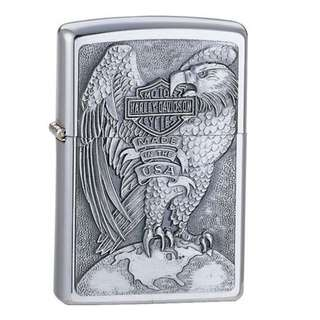 🚚 Zippo Harley-Davidson® Emblem, High Polished Chrome 200HD.H231