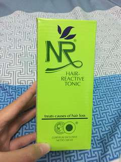 NR hair reactive tonic