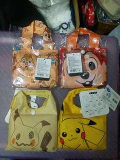 日本環保袋❤ -比卡超 ,chip and dale❤