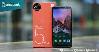 Cicilan Xiaomi Redmi 5 Plus Ram 4/64Gb Fitur Mumpuni Dp Murah Cicilan Ringan Proses Cepat Bisa Langsung Bawa Pulang Barangnya