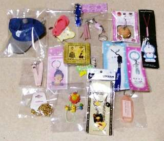 Keychains Set with Free Magnet