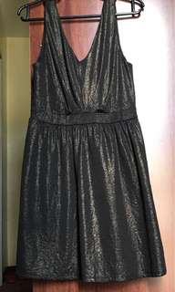 Black Shimmering Dress