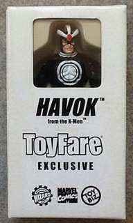 Havok toyfare exclusive
