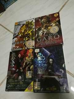 KOMBO DVD MASKED RIDER GARO