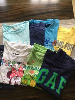 Assorted Tops (ages: 4-6yo)