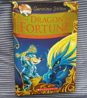 Geronimo Stilton Kingdom Of Fantasy The Dragon Of Furtune