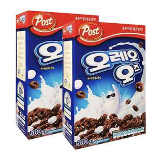 Oreo's Cereal 250g ( x2 boxes )