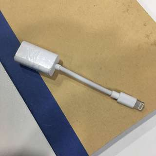 Iphone Lightning cable (earpod/charger) connector