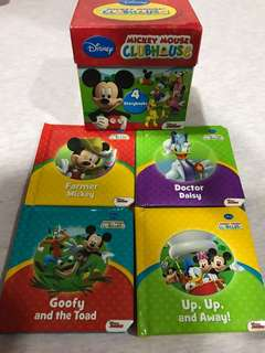 Mickey clubhouse mini library box