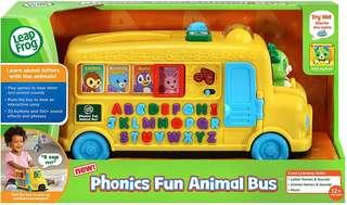 🚚 (Pre-Order)  LeapFrog Alphabet Phonics Bus
