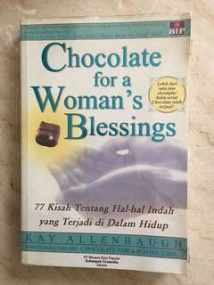 Woman blessing