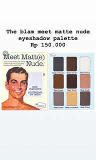 The Balm Eyeshadow Palate