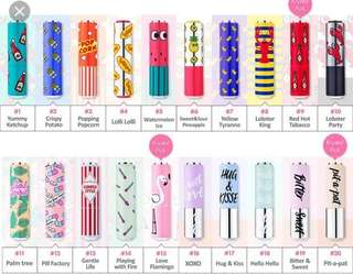 💄SLAES CLEARANCES ETUDE HOUSE DEAR MY GLASS TINTING LIPSTALK!!(JUST FOR $10 ALONG WITH THE CASE!!)