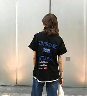 Wtaps x supreme tee in 3 colors