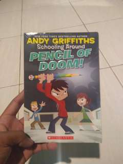 Novel Inggris Anak // Schooling Around Pencil of Doom!