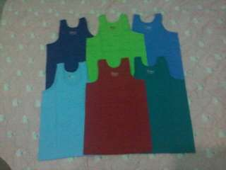 6pcs.Assorted Kentucky Sando size 14 for kids