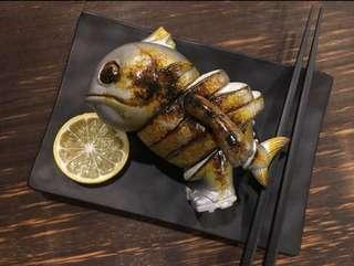 全新 豆芽社長 水產 鮪魚前輩 會場限定 蘇勳 燒魚 限量香港200隻