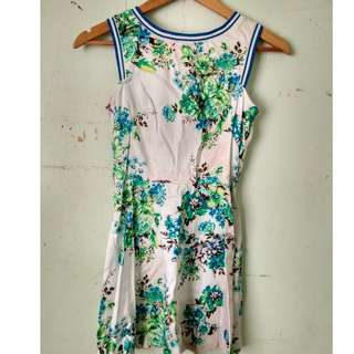 Just G Jersey Floral Dress