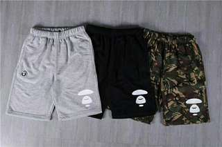 AAPE 短褲 in 3 colors
